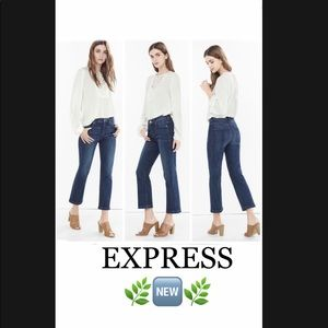 Express Jeans Size 2 Cropped 🌱🆕🌱